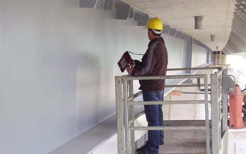 Híd homokfúvás és ipari berendezések festés munkái