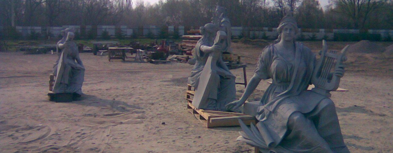 Szobor homokfúvás és műemlék tisztítás homokfúvással